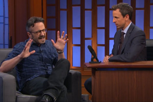 Marc Maron Talks About Fueling His Rage on Late Night
