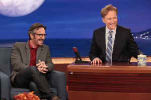 Things Don't Go Exactly as Planned When Marc Stops by Conan