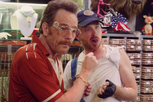 Bryan Cranston and Aaron Paul Reunite for Pawn Parody