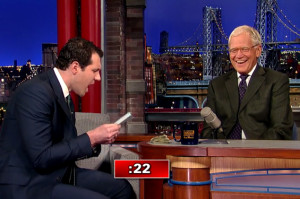 Billy Eichner Gets Loud with David Letterman