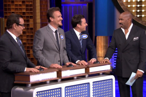 The Tonight Show Transformed into a Crazy Version of Family Feud