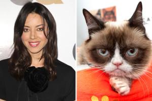 ATTN Internet: Aubrey Plaza Is Now the Voice of Grumpy Cat