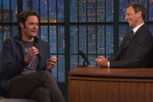 Bill Hader Recalls Emotional Farewell to Stefon
