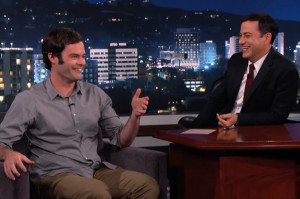 Bill Hader Talks About His Playboy TV Past on Kimmel
