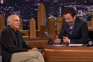 Larry David Was His Usual Optimistic Self on The Tonight Show