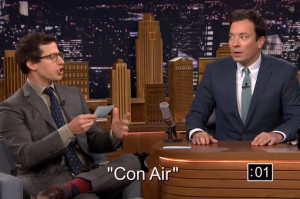 Andy Samberg Whips Out His Nicolas Cage Impression on Fallon