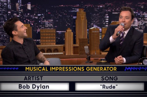 Jimmy Fallon and Adam Levine Show Off Their Musical Impression Skills