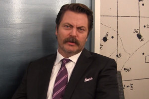Nick Offerman Has the Answers to All of Life's Questions