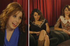 Vanessa Bayer Shows Off Her Jewel Impression in Sound Advice