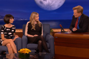 Find Out the Origin Story of Garfunkel and Oates on Conan