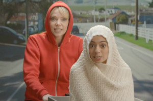 Watch Garfunkel and Oates' Ode to Getting High, Legally