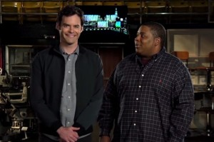 Watch Bill Hader Annoy the Heck Out of Kenan Thompson