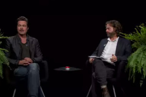 Zach Galifianakis Isn't Impressed with Brad Pitt on Between Two Ferns