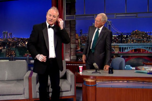Bill Murray Talks Ghostbusters, Trains for Marathon on Letterman