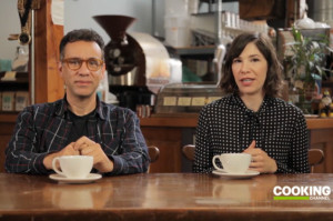 Fred and Carrie Show You How to Drink Coffee the Right Way