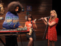 Garfunkel and Oates Make Scary Good Music with Reggie Watts