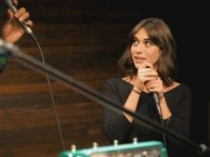 Reggie and Lizzy Caplan turn primal sounds into music.