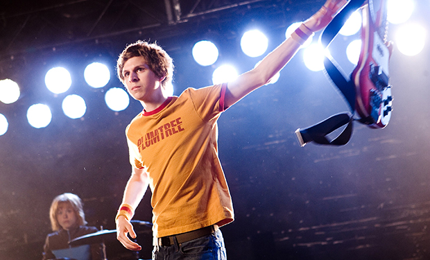 SCOTT PILGRIM VS. THE WORLD, from left: Alison Pill, Michael Cera, 2010. Ph: Kerry Hayes/©Universal/