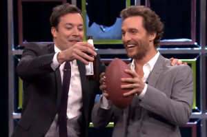 Watch Matthew McConaughey Break Jimmy Fallon's Face