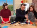 Fred and Carrie Put a Bird (in a Basket) on the Rachael Ray Show