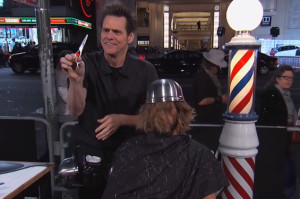 "Watch Jim Carrey Give People ""The Lloyd"" on Kimmel"