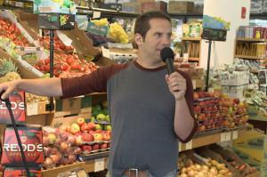 Seth Herzog Makes Food Jokes on Comedy Drop