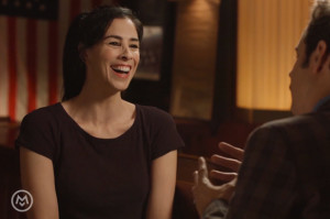 Sarah Silverman Drinks Booze and Talks Babies with Paul F. Tompkins
