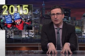 Let John Oliver Tell You How to (Not) Celebrate New Year