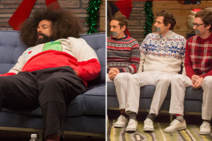 Watch Reggie Watts Bust Rhymes with The Lonely Island