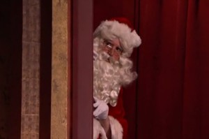 Santa Reveals That He's Kind of a Creeper on Conan