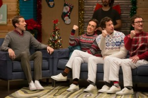 The Lonely Island Get in the Christmas Spirit by Hustlin'