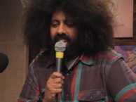 Reggie Watts makes music with guest Nick Kroll.
