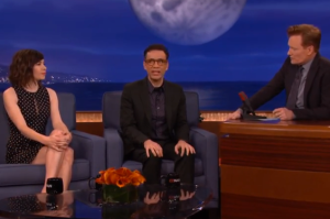 Fred and Carrie Talk Twitter Marriage Proposals and Bill Hader on Conan