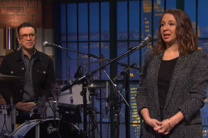Fred Armisen and Maya Rudolph Reunited on Late Night and It Was Awesome