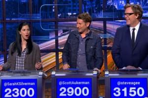 Watch Scott Aukerman, Sarah Silverman and Steve Agee Get Weird on @midnight