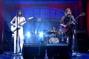 Watch Sleater-Kinney Bring Down the House on Letterman