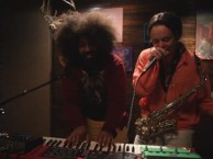 Reggie Watts makes music with guest Jon Daly.