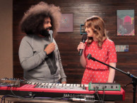 Reggie makes music with guest star Gillian Jacobs