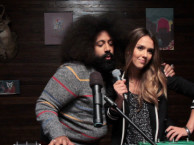 Reggie makes music with guest star Jessica Alba