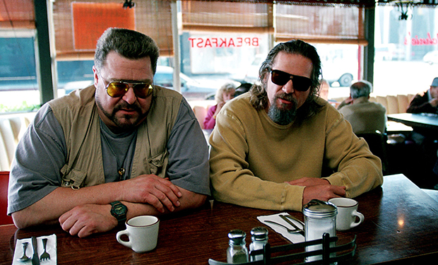 THE BIG LEBOWSKI, John Goodman, Jeff Bridges, 1998, (c) Gramercy Pictures/courtesy Everett Collectio