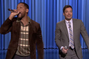 Get Jiggy With Jimmy Fallon and Will Smith's Epic iPad Beatboxing