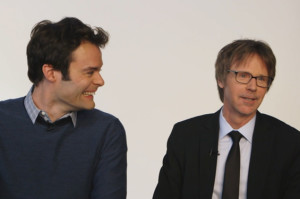 Watch Bill Hader Lose It Over Dana Carvey's Beatles Meets Kanye Routine
