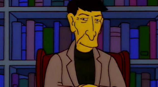 The Simpsons Leonard Nimoy