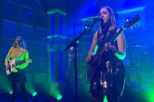 Sleater-Kinney Played Late Night with Seth Meyers and Fred Didn't Crash the Show