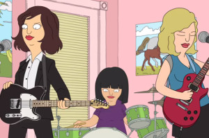Sleater-Kinney Teams Up with Bob's Burgers for New Video