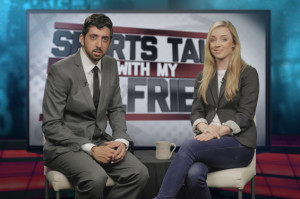 Sports Talk with My Girlfriend Is Your New Favorite Girlfriend-Approved Sports Show