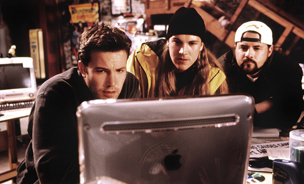 JAY AND SILENT BOB STRIKE BACK, Ben Affleck, Jason Mewes, Kevin Smith, 2001. ©Dimension Films/Courte