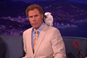 Please Don't Ask Will Ferrell About the Bird on His Shoulder