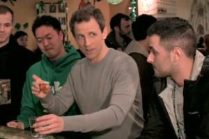 Seth Meyers Got Drunk on St. Patrick's Day. Really, Really Drunk.