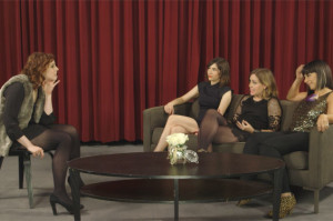 Sleater-Kinney Gets Some Career Tips from Vanessa Bayer